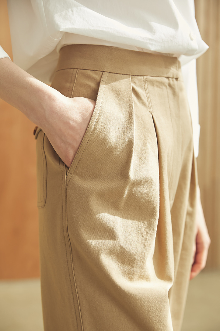 Pinn Cotton Tapered Pants (2 colors)