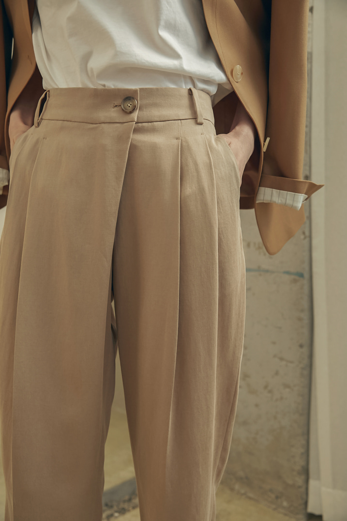 Cropped Fluid Trousers (3 colors)