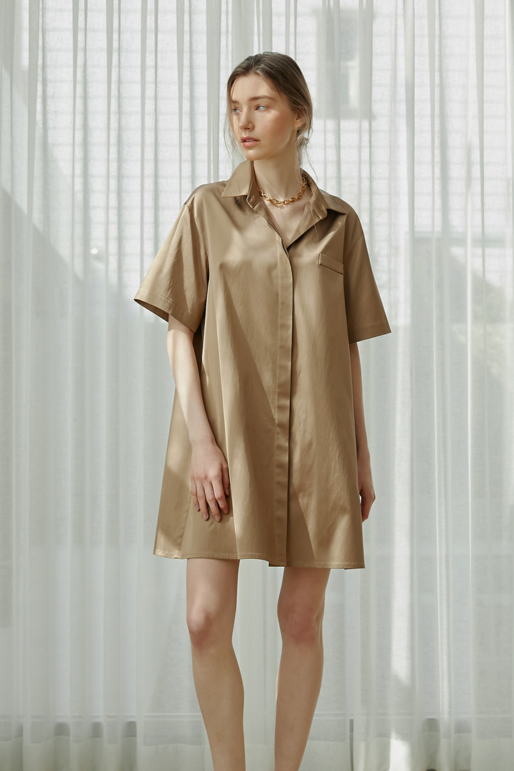 Renee Midi Shirt Dress (3 colors)