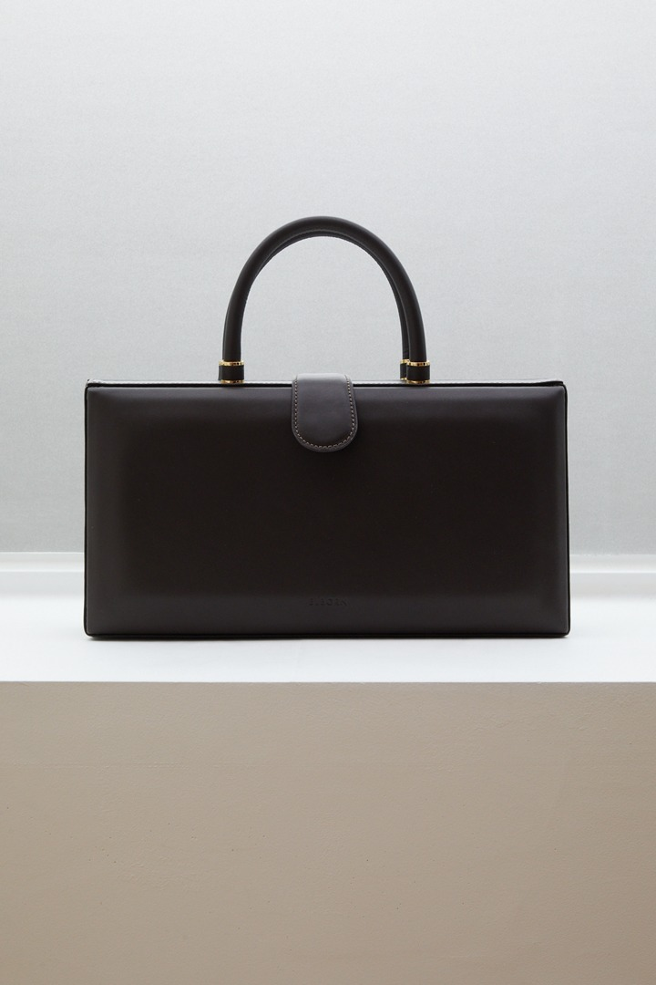 Numero 084: Pierre Square Bag (Dark Chocolate)