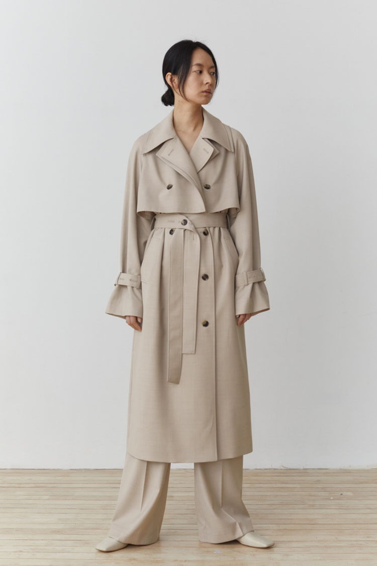 [Pre-order] Numero 101: Sable Wool Trench Coat